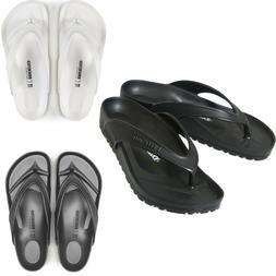 Men Birkenstock Honolulu EVA Flip Flops Black Grey White Bea