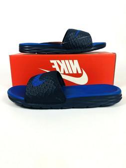 Nike Men's Benassi Solarsoft Flip Flops Slides 705474 440 Mi