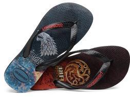 Havaianas Men`s Brazilian Flip Flops Game Of Thrones Sandal