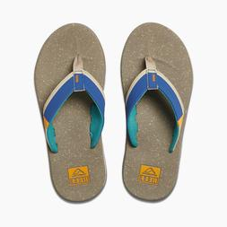 Reef Men's Fanning Low Flip Flops size 9 $60  Sandals Bottle