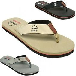 mens flip flops beach sandals lightweight eva