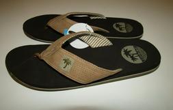 Margaritaville Men's Flip Flops Sandals Light Tan Size 12 Ne