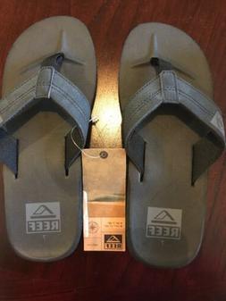 Reef Men's HT Black Flip Flops Size 7 M US