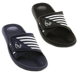 Men's Massage Sandals Flip Flops Adjust Strap Slide Sport Sl