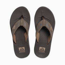 Reef Men's Phantoms Flip-Flop Sandal Brown 100% Authentic Br