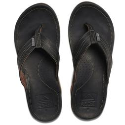 Men's Shoes Reef J BAY III Leather Flip Flop Sandals RF00261