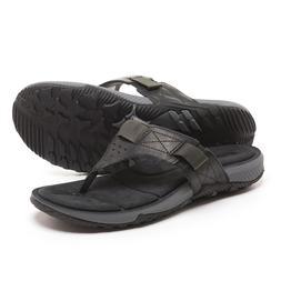 Merrell Men's Terrant Flip Flops Thong Sandals  Black