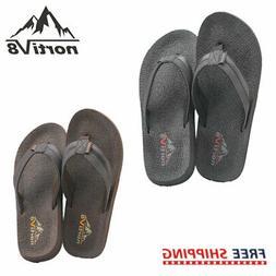NORTIV 8 Men's Thong Flip Flops Sandals Comfortable Light We