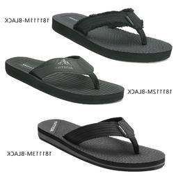 NORTIV 8 Men's Thong Flip Flops Sandals Comfortable Light We
