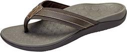 Vionic Men's, Tide flip Flop Sandals Brown 9 M