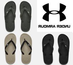 Under Armour Men's UA Atlantic Dune Thongs Sandals Slides Fl