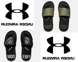 Under Armour Men's UA FREEDOM USA Sandals Slides Athletic Fl