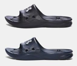 Under Armour Men's UA Locker III Water Slide Sandals Black &