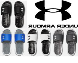 Under Armour Men's UA Playmaker Fixed Strap Slides Athletic