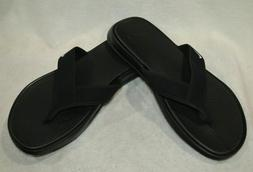 Nike Men's Ultra Celso Black/White Thong Sandals - Size 11/1