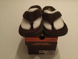 men sandals flip flops memory foam relaxed
