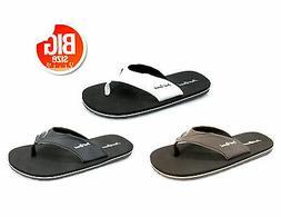 mens big sizes sandals flip flops men