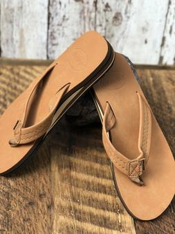 FANTURE Mens Flip Flops Arch Support Sandals Size 41/8.5
