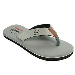 Alpine Swiss Mens Flip Flops Beach Sandals EVA Sole Comfort