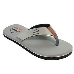 e15c425a2 Alpine Swiss Mens Flip Flops Beach Sandals EVA Sole Comfort