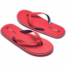 Alpine Swiss Mens Flip Flops Lightweight EVA Thong Summer Sa