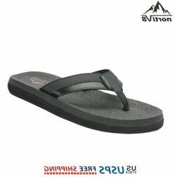 Mens Flip Flops Thong Sandals Lightweight Beach Comfort Summ