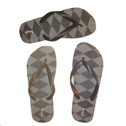 Men's Flip Flops Water Proof Memory Foam Footbed Shower Beac
