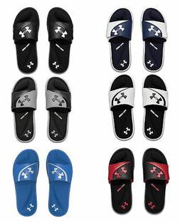 Under Armour Mens Ignite VI Slide Athletic Sandals Flip Flop