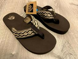 mens sandals smoothy flip flops brown sizes