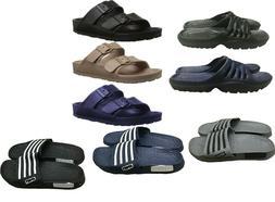 Mens Slip On Sport Sandals Slides Rubber Shower Shoes Slippe