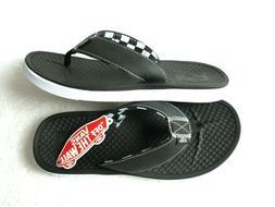 Vans Mens Ultracush Sea Esta Checkerboard Flip Flops Black W