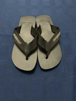 Men's Urban Basic Havaianas Flip Flops Size 7/8 Black