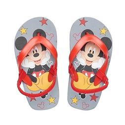 Disney Mickey Mouse Toddler Boys' Red Thong Flip Flop Sandal