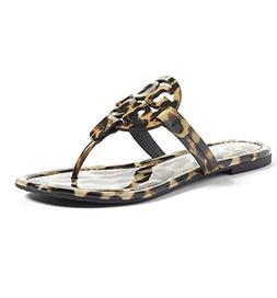 Tory Burch Miller Metallic Sandal Womens