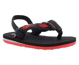 Teva Mush II Fashion Flip Flop Sandal , Sharks/Black/Red-T,