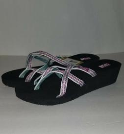 TEVA MUSH MANDALYN WEDGE OLA 2 WOMEN'S WONDERS MAGENTA SANDA