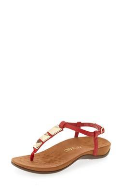 Women's Vionic Nala T-Strap Sandal, Size 8 M - Red