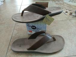 NEW $49 Mens Margaritaville Marlin  Flip Flops, size 14   sh
