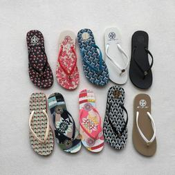 New Authentic TB Flip-Flops Women's Slippers Size 5-9 Tory F