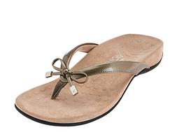 New VIONIC Bella II Bow Detail Toe Post Sandal Flip Flops 10