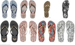 NEW Roxy Bermuda Flip Flops Sandals Thongs for Women and Tee