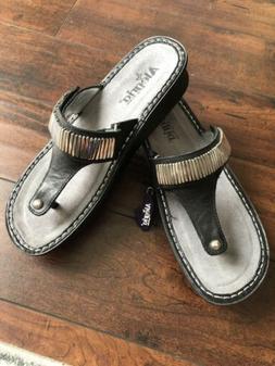 NEW Alegria Carina Womens Thong Sandals 40/10 Flip Flops