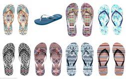 NEW Roxy Flip Flops Sandals Thongs in Portofino Style for Wo