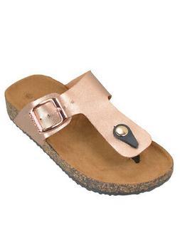 New Girls Kids Summer Thong Sandal Birken Style Flip Flops S