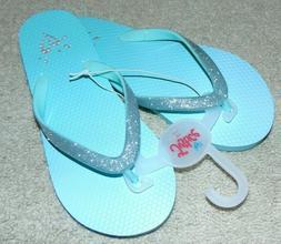 ~NEW Girls JUSTICE Sandals/Flip-Flops! Size XS 13/1 Cute:)*
