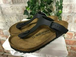 NEW Birkenstock Gizeh Women's Sandals Thong Flip Flops Black