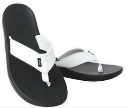 New Nike Kepa Kai Thong Sandals Slippers Flip Flops White/Bl