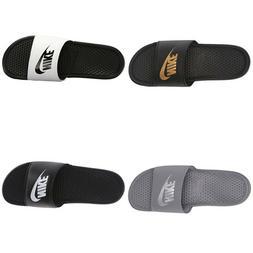 New Nike Men's Benassi JDI Slides Swoosh Sandal Flip-Flops S
