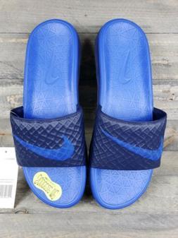 New Nike Men's Benassi Solarsoft Flip Flops Slides 705474 44