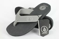 New Volcom Men's Daycation Flip Flop Sandals 8, 9, 10, 11, 1